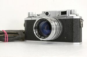 Objektiv-Optische-N-MINT-Canon-iid2-II-d2-LTM-Kamera-Lens-Serenar-50-1-8-l39-Japan