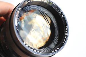 HANIMAR-Auto-034-S-034-135mm-f-2-8-Telephoto-Lens-for-Pentax-M42-screw-mount-Japan