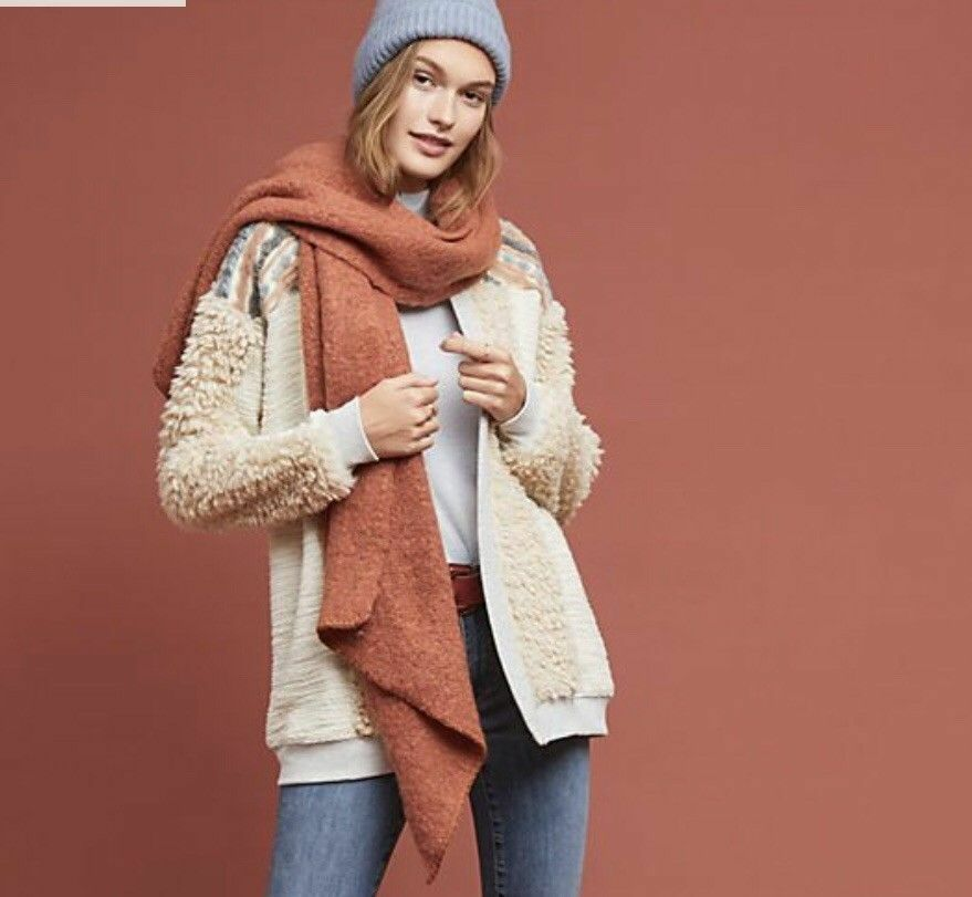 Anthropologie  Anthropologie Chaparral Cardigan new nwt L