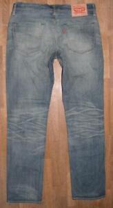 elastische-LEVI-S-511-Herren-JEANS-LEVIS-Blue-Jeans-in-blau-in-W34-034-L32-034