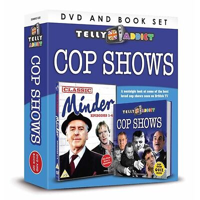 80 X WHOLESALE JOB LOT TELLY ADDICTS COP SHOWS DVD BOOK GIFT THE FIRST MINDER