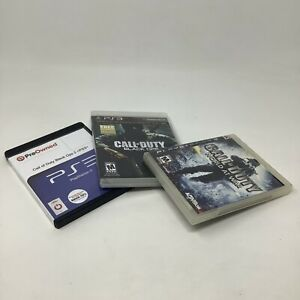 Sony-PlayStation-3-PS3-Video-Game-Bundle-Lot-of-3-Call-Of-Duty-Games-Genuine