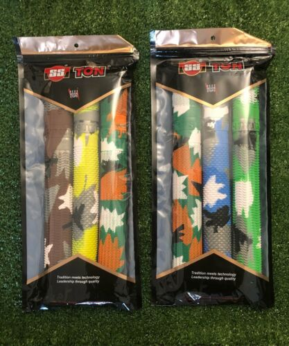 3 Pack assorted colors SS Chevron Grips