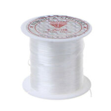 50M Strong Stretch Elastic Cord Wire rope Bracelet Necklace String Bead 0.5mmJ/&C
