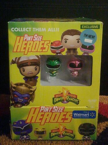 NEW Walmart Exclusive  FUNKO Pint Size Heroes Power Rangers Full Box