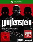 Wolfenstein: The New Order (Microsoft Xbox One, 2014, DVD-Box)