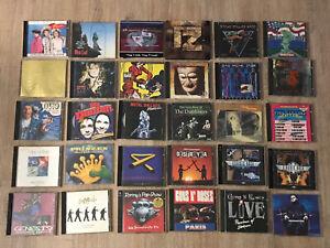 Sammlung Konvolut CD Rock Metal Genesis Rammstein Meat Loaf Dropkick Murphys Set