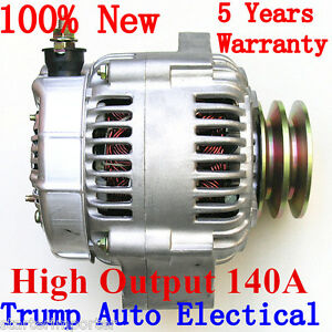 Alternator-to-Toyota-Landcruiser-HZJ70-73-75-78-80-105-eng-1HZ-4-2L-Diesel-140A
