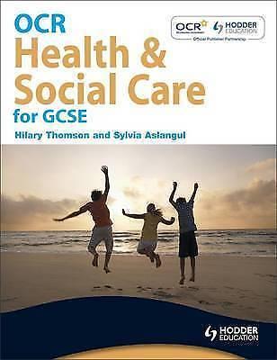 1 of 1 - OCR Health and Social Care for GCSE, Good Condition Book, Aslangul, Sylvia, Thom