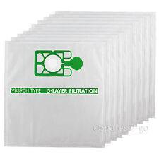 10 x Numatic NUVAC Vacuum Cloth Hoover Bags HEPAFLO NVH370 NNV370 NNV374 NVN200