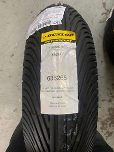 Dunlop Kr393 165/55/17 Race Wet Rain Tyre Minitwin 400 Sv650 160/60/17