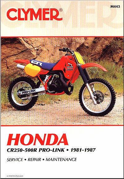 1981 1987 honda cr 250 450 480 500 cr250 cr450 cr480 cr500 clymer rh ebay com honda cr 500 service manual honda cr500 service manual pdf