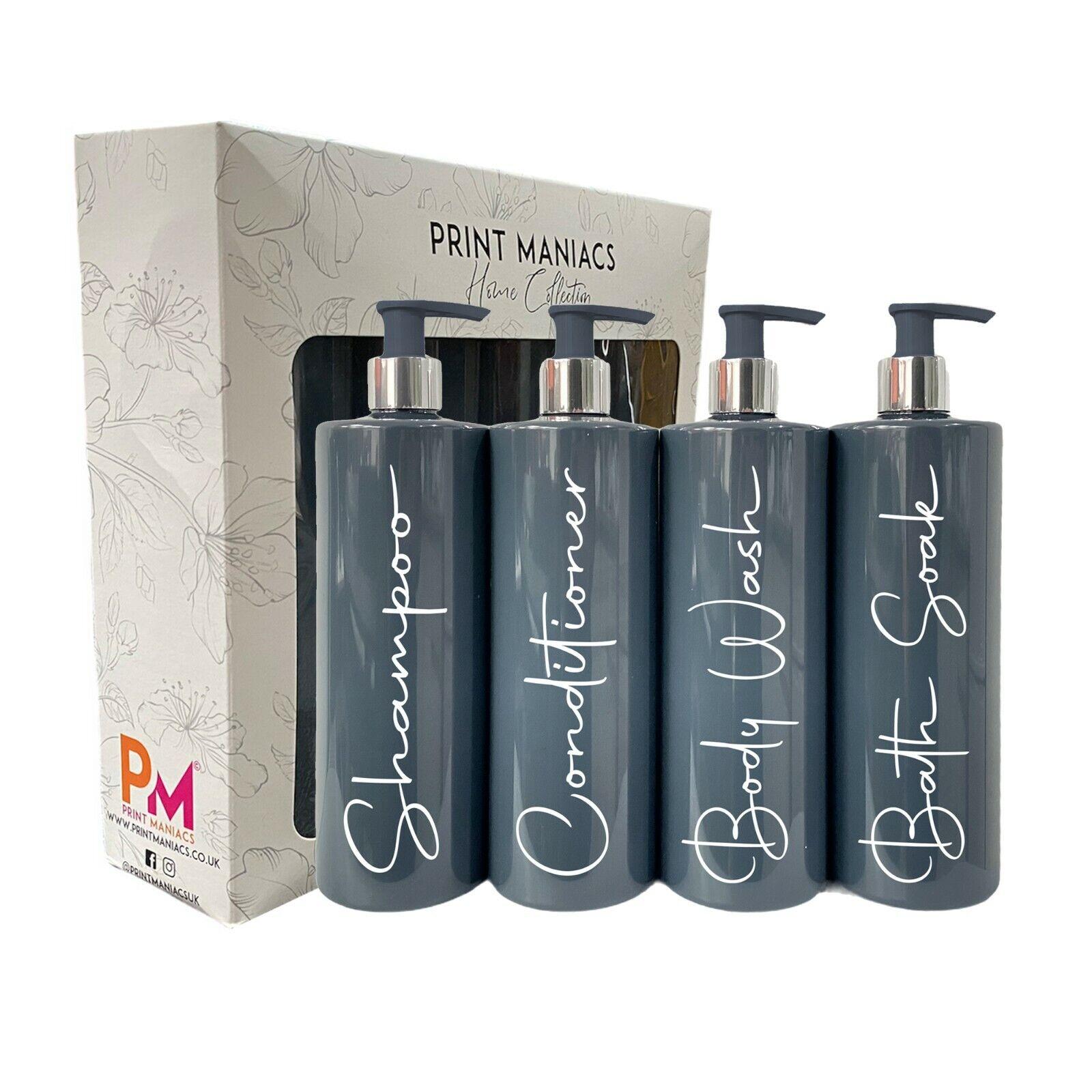 Mrs Hinch Inspired SIGNATURE Personalised Bathroom Lotion Pump Bottles Shampoo