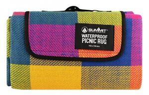Pliant Couverture Camping Extérieur Plage Festival Imperméable Support Picnic Tapis Tapis