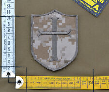 "Ricamata / Embroidered Patch ""Crusader"" NWU II Aor 1 with VELCRO® brand hook"
