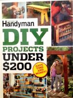 The Family Handyman Diy Projects Under $200 Hardcover Save Time And Money