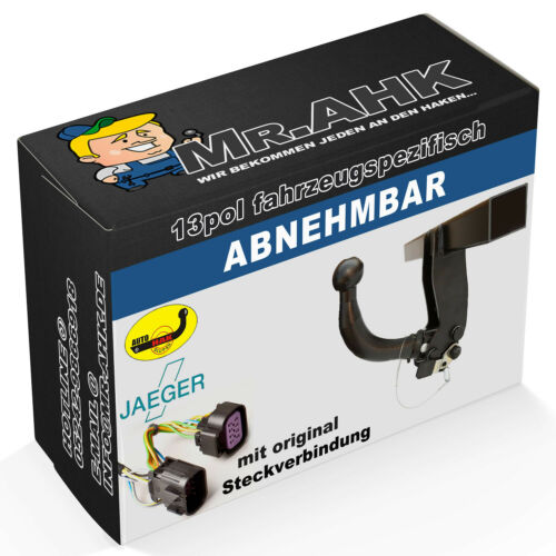 AutoHak enganche remolque para audi a6 sedán 11-14 extraíble específico del 13pol