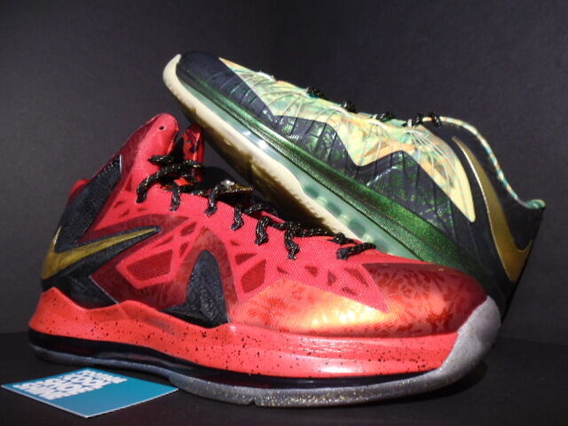 Nike Air Max LEBRON X 10 P.S. ELITE CELEBRATION CHAMPIONSHIP PACK MVP gold 13
