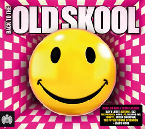 Various-Artists-Back-to-the-Old-Skool-CD-3-discs-2011-FREE-Shipping-Save-s