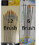 6-12pcs //set Paint Brush for Oil Watercolor Acrylic Art Craft Artist Painting UK