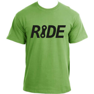 RIDE-a-bike-Bicycle-tee-Cycling-sports-top-Cotton-Short-Sleeve-T-shirt