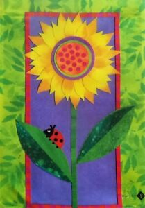 "Bright Sunflower Garden Flag by Toland, 12.5"" x 18"",  #7056"