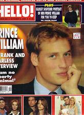 PRINCE WILLIAM UK Hello Magazine 2/13/01 #649 JENSON BUTTON SARAH FERUGSON