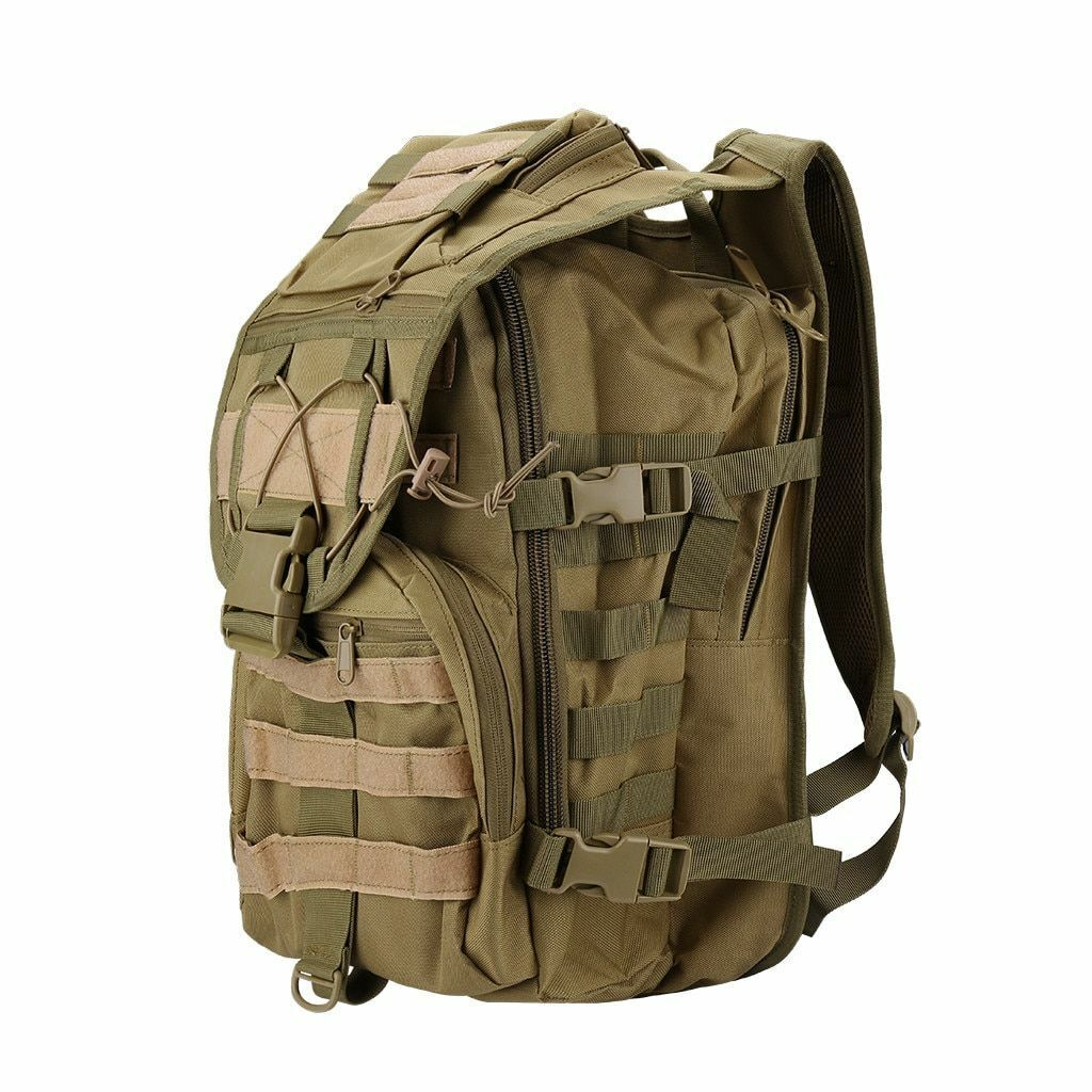 Military Backpack Tactical Hire Rucksack all'aperto campeggio Trekre borsa Molle Us