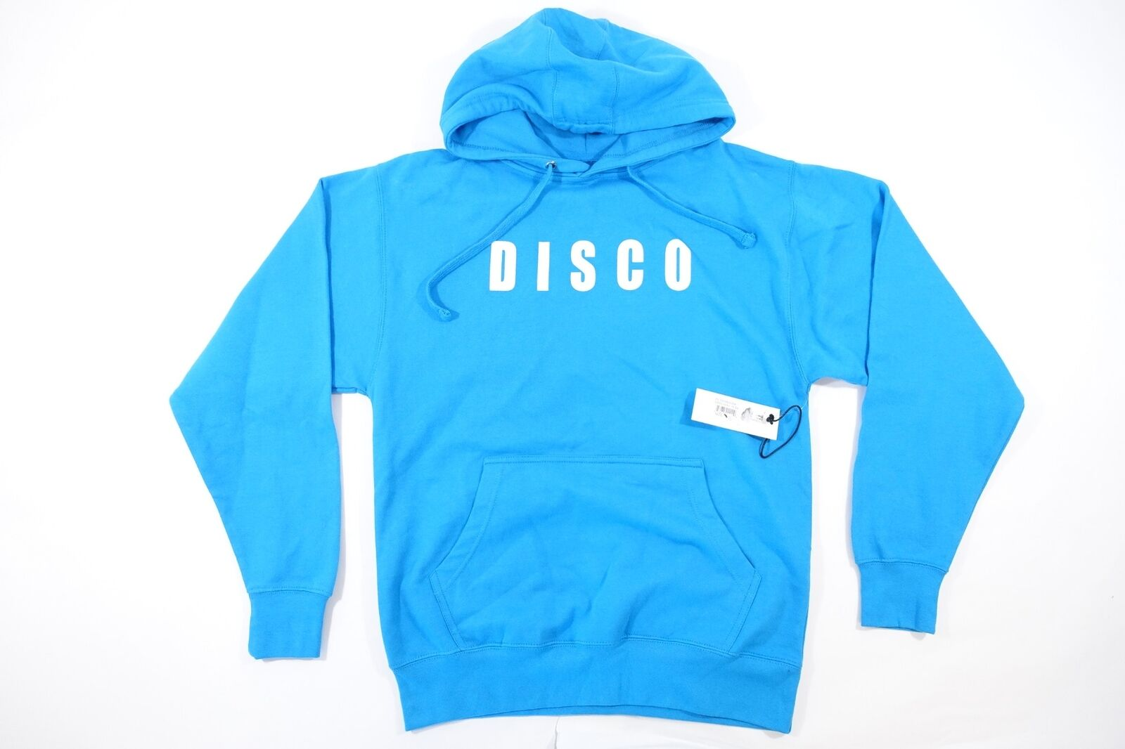 DISCO TUESDAYS SMALL THE ULTIMATE IN LO-FI STEREO RETRO VINTAGE HOODIE SWEATER