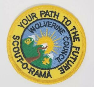Boy-Scouts-Patch-039-91-Wolverine-Council-Scout-O-Rama-Your-Path-to-the-Future-3-034
