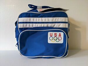 Vintage Coleman USA Olympics Team Soft Cooler Bag / Lunch Bag/Box - 6 Quart 1986