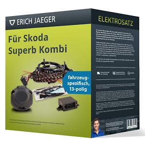 Für Skoda Superb Kombi E-Satz 13-pol spezifisch NEU Erich Jaeger