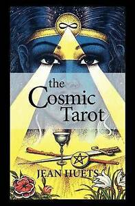 Cosmic-Tarot-Book-Paperback-by-Huets-Jean-Losche-Norbert-Like-New-Used