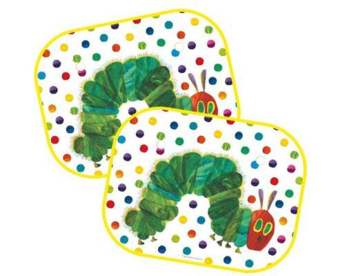 2er Set Kinder Sehr Hungry Caterpillar Autofenster Sonnenblende