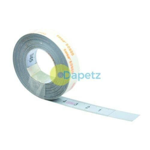 Right to left Reading Self-Adhesive Measuring Tape Metric 3.5m Left to Right