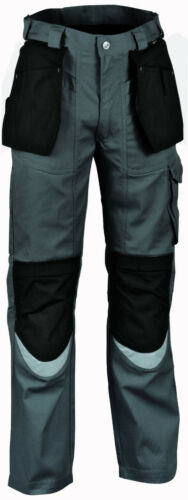 01504 Work Trousers Bricklayer Collection Workwear by Cofra Anthracite Black NEW
