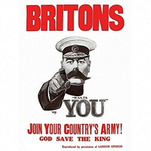 hb Britons Join Your Country/'s Army drinks mat REDUCED !! coaster