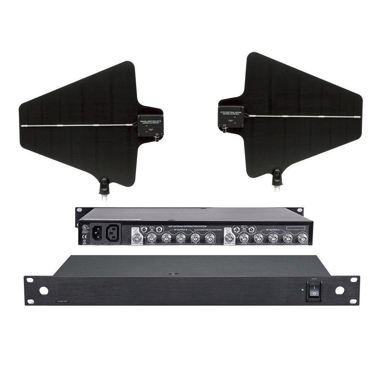 Sistema Sistema Sistema de distribución de alimentación de antena profesional para micrófono inalámbrico Karaoke  con 60% de descuento