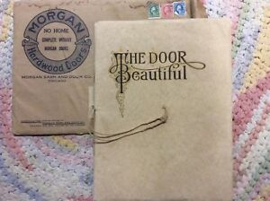 Image Is Loading 1914 Chicago MORGAN SASH Amp DOOR CO Illustrated