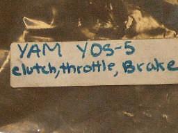 Yamaha YDS-5 High Bar Cable Kit-NEW