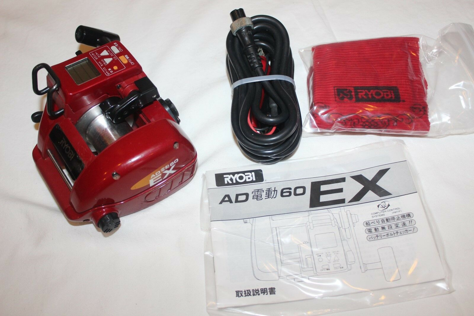 RYOBI ADVENTURE  AD 60 EX-ELEKTRgoldLLE-MADE IN JAPAN-Nr-985  we take customers as our god