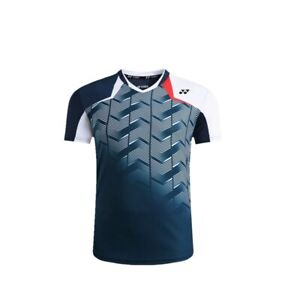 New-Outdoor-sports-Tops-Table-tennis-clothing-men-039-s-badminton-T-shirt-1815A