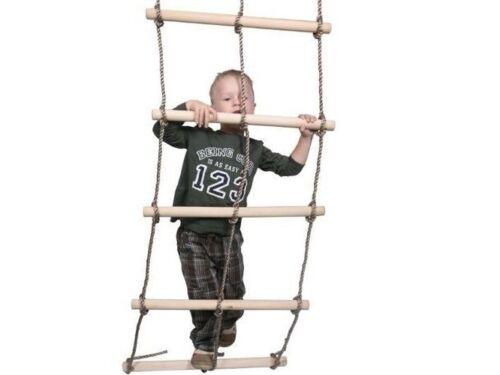 Kletterutensilien für Spielplatz Kletternetz Holzsprossen doppel Zubehör