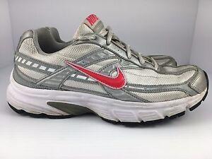 f1b5e581f5d2 Nike Initiator Women s Running Pink Shoes Sneakers 394053-101 US ...