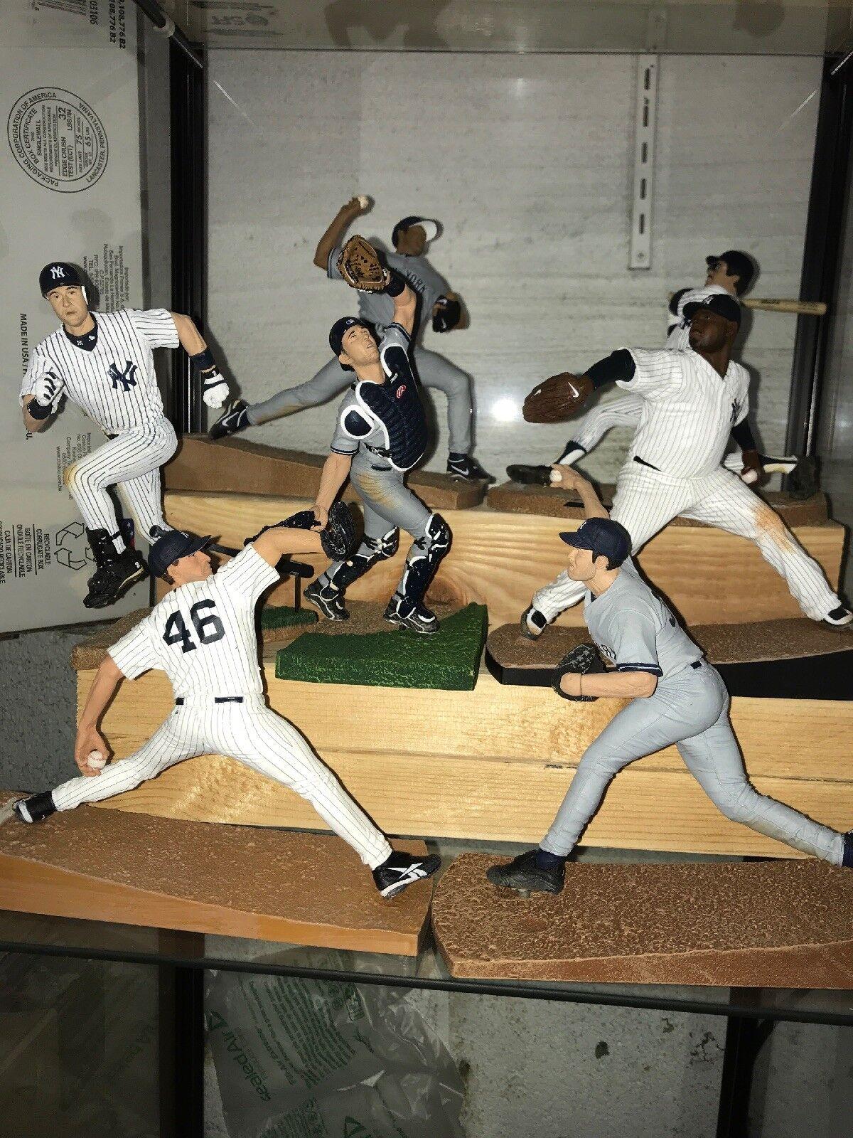 New York Yankees Mcfarlan Lot Of 7 Figures Loose