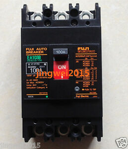 NEW IN BOX Fuji EA103B 100A Circuit breaker
