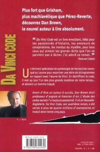 Da-Vinci-Code-de-Dan-Brown-Livre-d-039-occasion