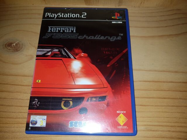 PLAYSTATION 2 PS2 GAME - FERRARI F355 CHALLENGE IN VGC