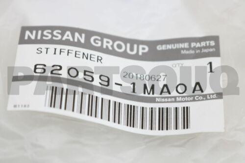 620591MA0A Genuine Nissan STIFFENER-FRONT BUMPER SIDE,LH 62059-1MA0A