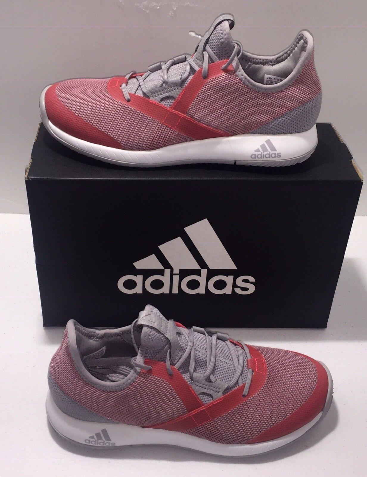 Women's Adidas Adizero Defiant bounce Granite Red Tennis shoes Sz 7